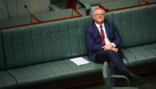 Morrison sitting alone